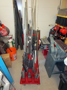Fabricated Portable Cart For Steel Remnants - The Garage Journal Board