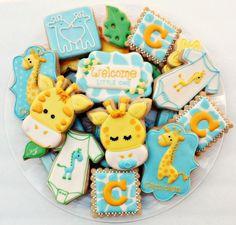 (101) Sweet Tweets - Naslovne fotografije Onesie Cookies, Baby Cookies, Baby Shower Cookies, Cute Cookies, Birthday Cookies, Cupcake Cookies, Cupcakes, No Bake Sugar Cookies, Sugar Cookie Royal Icing