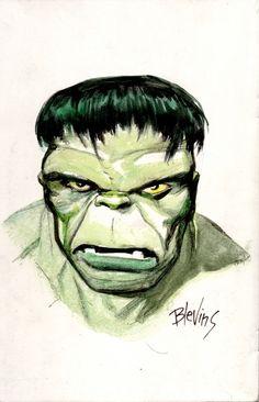 Hulk by Bret Blevins
