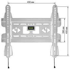 Kromax Vega-50 белый  — 1242 руб. —  Kromax VEGA-50 представляет собой кронштейн, с помощью которого вы сможете плотно зафиксировать на стене VESA-совместимый телевизор или монитор.  Высокое качество используемых материалов - залог того, что устройство будет сидеть как литое и ни за что не выпадет из пазов. При этом вы должны понимать, что данный кронштейн относится к числу фиксированных, поэтому после установки телевизора или монитора вы не сможете наклонить или же повернуть экран…