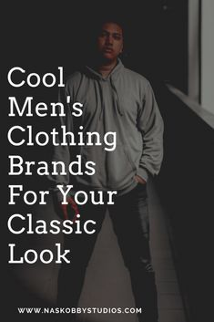 Cool Men's Clothing Brands For Your Classic Look - Nas Kobby Studios Mens Clothing Brands, Men's Clothing, Mens Fashion Wear, Men Wear, Music Lesson Plans, Corporate Fashion, Men's Grooming, Stylish Men, Classic Looks
