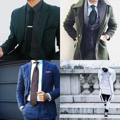 Green with envy is the key theme for some of this week's best dressed men of Instagram. We're talking immaculate layering and eye-popping pocket squares...