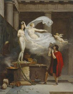 Pygmalion and Galatea  Louis Gauffier (1761–1801)  Manchester Art Gallery