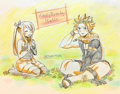 ~Natsu and Lucy~