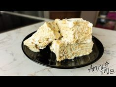 Λευκός κορμός με 3 υλικά! / White dessert with 3 ingredients - YouTube Krispie Treats, Rice Krispies, Candy Recipes, Custard, Chocolate, Cream, Desserts, Food, Coffee
