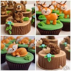 Trendy Ideas For Baby Shower Woodland Cake Forest Themes