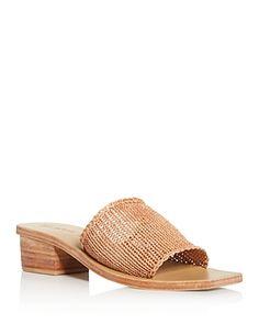 Agni Women's Celina Knit Block-heel Sandals In Tan St Agni, Knitting Blocking, Shoes Photo, Minimal Classic, Luxury Branding, Block Heels, Me Too Shoes, Heeled Mules, Casual Shoes