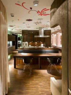 Fascinating Interior of Apartment S in Germany     For those people who work in the city with an average salary may choose to rent an apartment instead of investing a huge house. These people may choose to have their interior fabulous than considering the exterior of the apartment. Today, we...