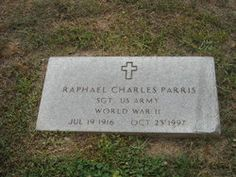 Parris, Raphael Charles 'Red'