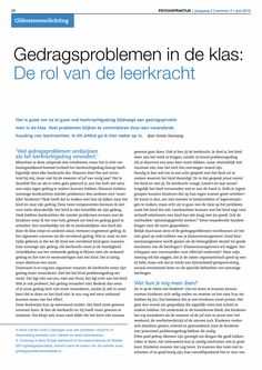 Gedragsproblemen in de klas: De rol van de leerkracht - Springer Co Teaching, Creative Teaching, Educational Leadership, Educational Technology, Special Educational Needs, Learning Quotes, Primary Education, Teacher Quotes, Early Childhood Education
