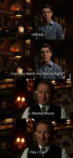 Batman Begins. (Gotham)