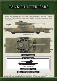 Tank Hunter Cars (GBX60)