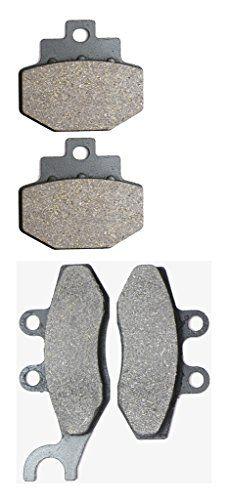 CNBK Semi-met Brake Pads Set fit PIAGGIO VESPA Street Bike GTS300 GTS 300 cc 300cc ie 08 09 10 11 12 13 14 15 2008 2009 2010 2011 2012 2013 2014 2015 4 Pads #CNBK #Semi #Brake #Pads #PIAGGIO #VESPA #Street #Bike