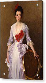 Mrs Archibald Douglas Dick Acrylic Print by John Singer Sargent