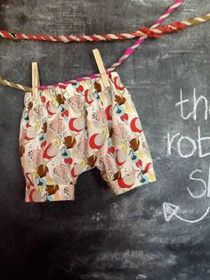 The Robin Short-Handmade Shorts for Boy & Girl Toddlers in Charleston Farmhouse collectionfabric. $14.50, via Etsy.