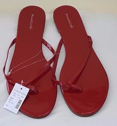 634b364e1011 Maurices Womens Sandals Shoes Flats Size 12 M Chili Pepper Red NEW 96594  Karoly  Maurices  Flat