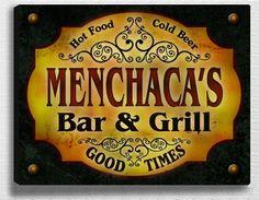 Menchaca Family Bar & Grill Stretched Canvas Print ZuWEE http://www.amazon.com/dp/B00L9UD46W/ref=cm_sw_r_pi_dp_pdcrub11EF7RR