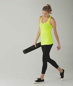 EUC Lululemon Cool Racerback Tank Top 4 Yoga/Run/Dance/Athletic Free ship in US #Lululemon #ShirtsTops