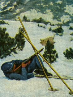 Polish military skier shooting at enemy, pin by Paolo Marzioli