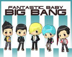 BIG BANG FANTASTIC BABY CHIBI by ~xcry on deviantART