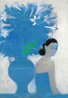Pablo Picasso, Bouquet Bleu, Magazine Art, Art Market, Artist Art, Figurative Art, Lovers Art, New Art, Photo Art