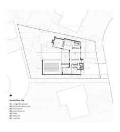 Courtyard House  / Studio JCI, Floor Plan-G