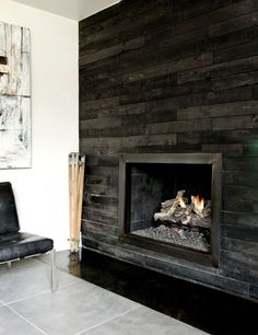 slate wall cladding for fireplace for the home pinterest slate cladding and stone veneer