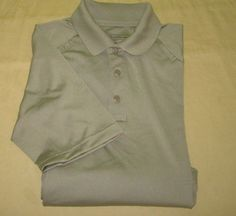 5.11 511 Tactical  Shooting Shirt Sz S Small - Beige -  100% Poly  #Patagonia #ButtonFront