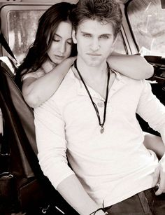 Keegan Allen and Troian Bellisario (Pretty Little Liars)