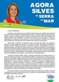 Carta da Candidata Cabeça de Lista pela CDU à Câmara Municipal de Silves.  Autarquias 2013. #Silves #CDU #Autárquicas2013