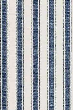 """Dash and Albert Rugs- """"Blue Awning Stripe"""" - Woven Cotton Rug - Available @ Maryland Paint & Decorating"""