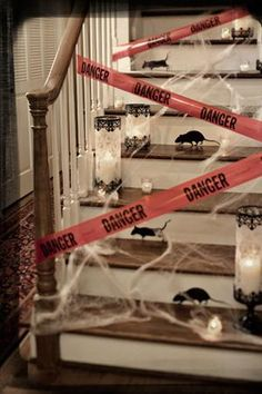 Halloween decorations / IDEAS & INSPIRATIONS Halloween Decorations - CotCozy                                                                                                                                                                                 Más