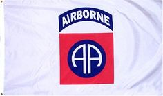 82nd Airborne 3x5 Foot Military Licensed Nylon Flag - - White by WILDFLAGS. $0.92. 3 By 5 Feet Polyester Brass Grommets