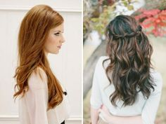 cabelo romântico e solto - noivas