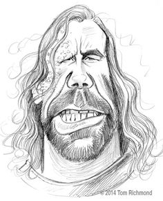 Game of Thrones Rory McCann © 2014 Tom Richmond Pencil Art Drawings, Pencil Sketches Easy, Easy Drawings, Art Sketches, Dessin Game Of Thrones, Game Of Thrones Art, Caricature Artist, Caricature Drawing, Character Drawing