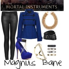 TMI: Magnus Bane by pageinabook on Polyvore featuring polyvore, mode, style, Therapy, Topshop, H&M, Sole Society, 1&20 Blackbirds, fashion and women's clothing