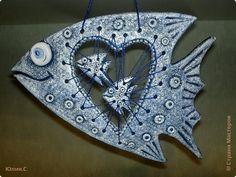 Поделка изделие Лепка Рыбки-соленушки Часть2 Тесто соленое фото 1