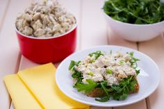 Chicken Salad: Turn leftover chicken into fresh and tasty salad just in 5 minutes.