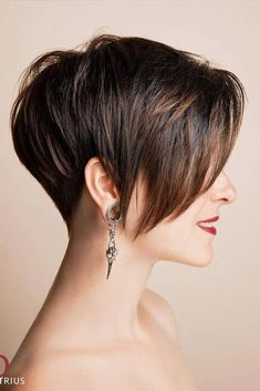 Trendy Pixie Hairstyles ❤ A long pixie cut is the definition of versatility combined with style. There are options for all the face shapes and hair types. haircut types 55 Long Pixie Cut Looks For The New Season Long Pixie Hairstyles, Latest Short Hairstyles, Short Pixie Haircuts, Layered Haircuts, Diy Hairstyles, Straight Hairstyles, Bob Haircuts, Pixie Haircut Long, Gorgeous Hairstyles