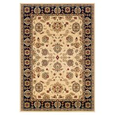 You should see this Adana Cream & Black Persian Rug on Daily Sales!  $140