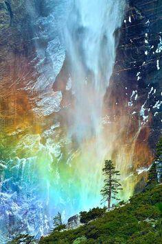 Bridalveil Fall at Yosemite