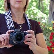 camera strap cover tutorial
