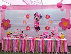 Fiestas Infantiles Decoradas con Minnie Mouse, parte 2