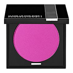 The unique texture of MAKE UP FOR EVER Powder Blush is due to its high pigment density, which makes it last and last. That's why makeup artists love it!   #SephoraColorWash