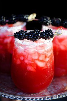 Blackberry Margarita #cocktail #margarita #recipe