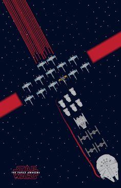 Lucasfilm dévoile une belle sélection de fan arts consacrés à Star Wars : The Force Awakens   SyFantasy.fr