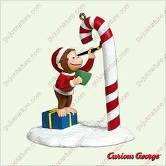 Color Me Curious Curious George Hallmark Ornament -- To view further for this item, visit the image link. Merry Christmas To All, Christmas Ornaments, Curious George, Hallmark Keepsake Ornaments, Great Night, Accent Decor, Diy Home Decor, Crafts, Collection