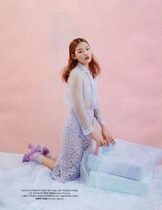 Sparkle Socks in Marie Claire Korea. #AmericanApparel #pastel