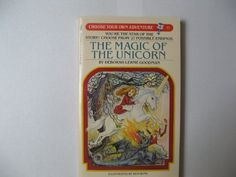 The Magic of the Unicorn (Choose Your Own Adventure, No. 51) by Deborah Lerme Goodman http://www.amazon.com/dp/0553252429/ref=cm_sw_r_pi_dp_qQtfwb1PFZ6NK