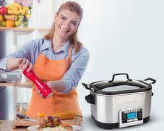 Rice Cooker, Slow Cooker, Multicooker, Crockpot, Kitchen Appliances, Diy Kitchen Appliances, Home Appliances, Crock Pot, Crock Pot